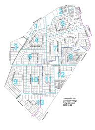 Dallas Neighborhood Map by Leadership U2014 Campbell Cert