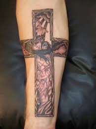 27 best forearm cross tattoo designs images on pinterest body