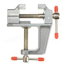 Hobby Bench Vice Aluminum Miniature Small Clamp On Table Bench Vise Tool Sale