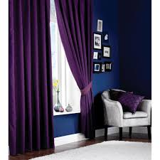 Aubergine Curtains Faux Silk Curtains Aubergine Tj Hughes