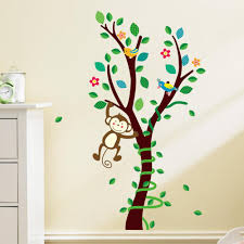 Baby Wall Decals For Nursery by Online Buy Wholesale Baby Room Wall Decals Trees From China Baby
