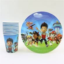 popular paw patrol plates buy cheap paw patrol plates lots