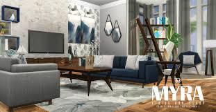 my sims 4 blog myra living room set by peacemaker ic myra living room set by peacemaker ic
