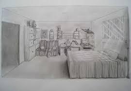 dessin de chambre en 3d dessiner une chambre en perspective idées de décoration capreol us