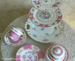 vintage china patterns exquisitely pink vintage china