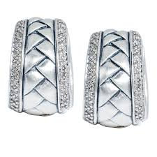 scott kay engagement rings scott kay basket weave and diamond earrings