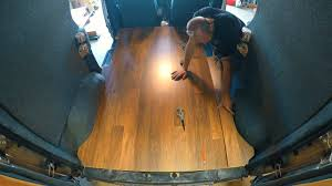 Why Would Laminate Flooring Buckle Van Conversion Installing A Laminate Floor Youtube