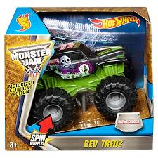 wheels monster jam grave digger truck wheels monster jam rev tredz grave digger truck 1 43 scale