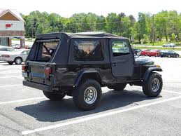 jeep open roof curbside classic 1985 jeep scrambler cj 8 u2013 a pickup in disguise