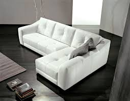 L Leather Sofa Modern L Shaped Sofa Whit Leather Sofa Design The Kienandsweet
