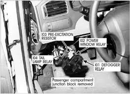 2003 hyundai elantra problems solved where power window relay on 2003 hyundai elantra fixya