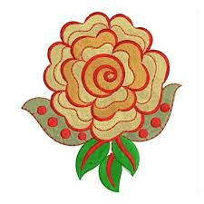 Flower Designs For Embroidery Rose Embroidery Designs
