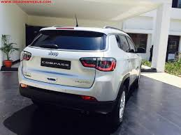 suv jeep 2017 jeep coming to goa with launch of jeep compass suv