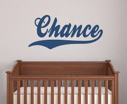 Name Wall Decals For Nursery by Boys Name Decal Name Wall Decal Sports Name Decal Wall Decal