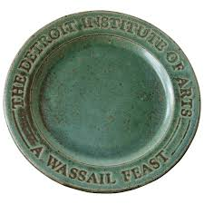 Pewabic Tile House Numbers by Wassail Feast