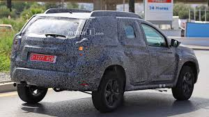 dacia 2018 dacia duster spied for the first time