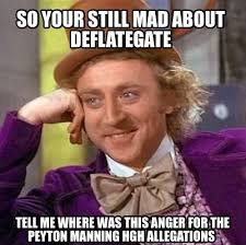 Peyton Memes - meme creator so your still mad about deflategate tell me where