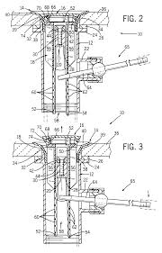 Bathtub Drain Mechanism Diagram Patent Us6484330 Combined Faucet And Drain Assembly Google Patents