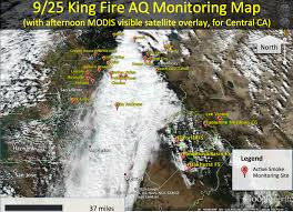 Ca Wildfire Map 2014 by California Smoke Information Thursday September 25 2014 King