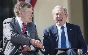 George Bush Cabinet George W Bush And George Hw Bush Former Republican Presidents