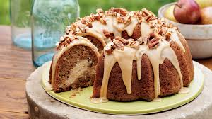 apple cream cheese bundt cake southern living youtube