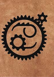 simple black zodiac cancer symbol tattoo design tattooshunter com
