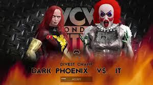 Dark Phoenix Halloween Costume Wwe 2k17 Dark Phoenix Pennywise Single Title Match Mitb