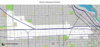 Map Of Chicago Streets by Map Of Building Projects Properties And Businesses In Kinzie