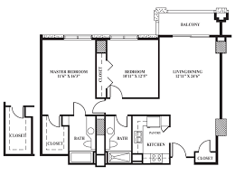 floor plan d 1 034 sq ft the towers on park lane