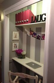 closet office space home design ideas closet turned home office space definitely doable in my room but what about closet