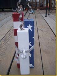 barn wood 2 x 4 let freedom ring firecracker sign country