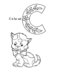 c is for cat coloring page letter c coloring page printable coloring pages
