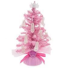 disney princess tree with sparkling shoe ornaments