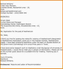 cover letter for esthetician best esthetician cover letter