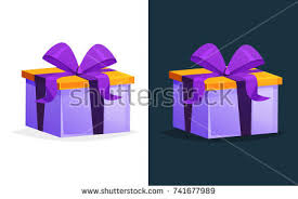 boxes with bows merry christmas gift gift boxes bows stock vector 741677989