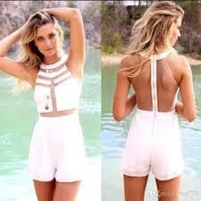 one shorts jumpsuit best womens splicing transparent midi bodycon jumpsuit