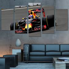 aliexpress com buy 5 piece canvas prints wall art f1 cycle