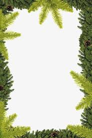 trees border trees tree decorative borders png image