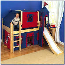 lovely bunk bed with slide canada new bedding beds slides for sale