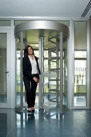 glass security doors entry door revolving glass security geryon sts s02 kaba
