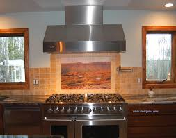 Ceramic Tile Murals For Kitchen Backsplash Custom Tile Murals From Your Art Or Photo Tile Art Reproduction