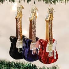 glass electric guitars ornament megastore