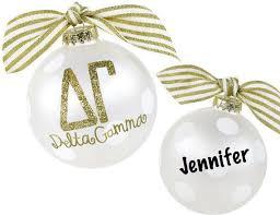 delta gamma ornament with optional personalization m d sorority