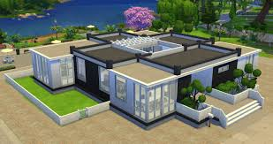 House With Central Courtyard Mod The Sims C3 Design
