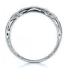 matching rings sapphire wedding band with matching engagement ring kirk kara