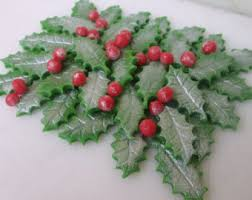 Christmas Cake Decorations For Sale by Christmas Cake Decoration Etsy