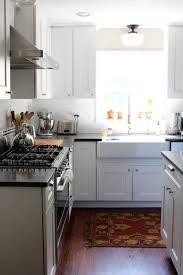 white kitchen cabinets home depot appliances martha this gorgeous white kitchen includes martha stewart dunemere