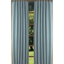 Silk Peacock Home Decor Curtains Drapes Wayfair Linen Blend Grommet Top Curtain Panel Set