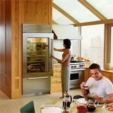 refrigerators with glass doors sub zero bi 36ug with glass door from sub zero