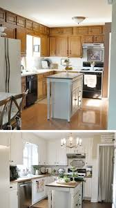 marvelous simple kitchen makeovers before simple cuisine after